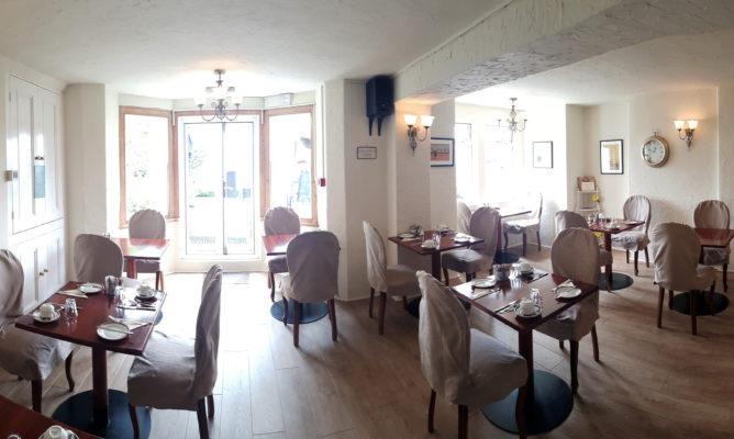 Bryn Y Mor Llandudno – Hotel Dining Room