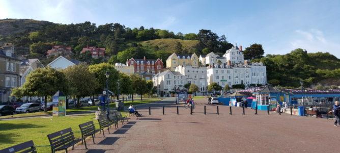 Bryn Y Mor Hotel From Llandudno Promenade